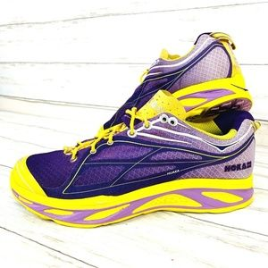 HOKA One One Women's W Huaka Running Shoes Purple